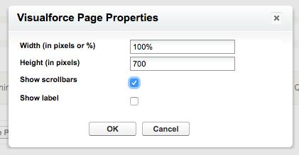 Visualforce Page Properties in Salesforce