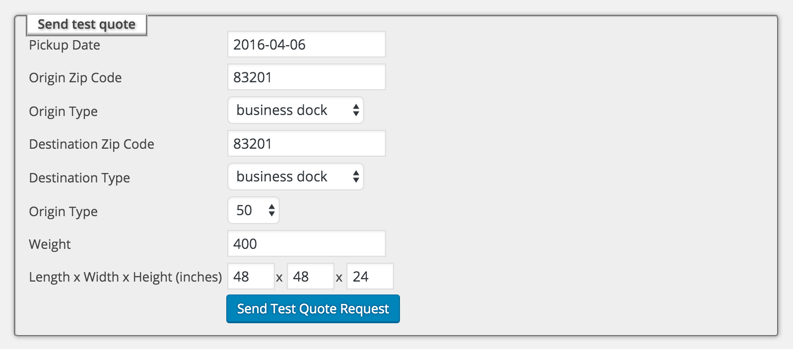 Freight Quote Setting Up Freightview For Woocommerce  Freightview